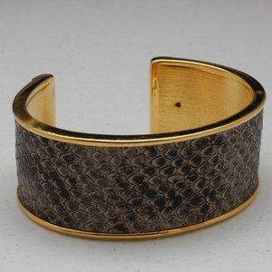 St John Python Cuff Bracelet